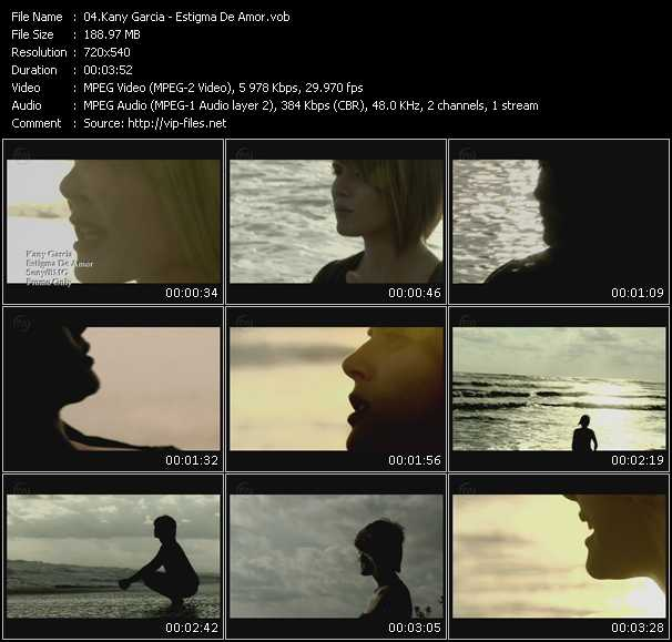Kany Garcia video screenshot