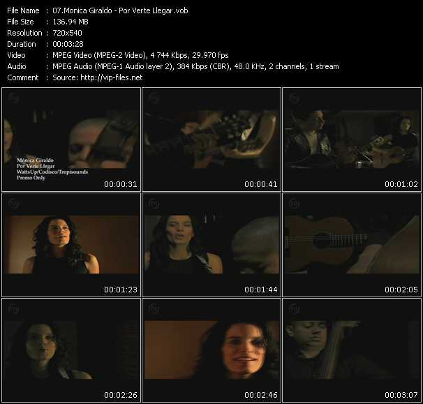 Monica Giraldo video screenshot