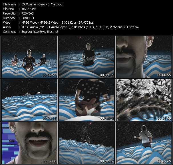 Volumen Cero video screenshot