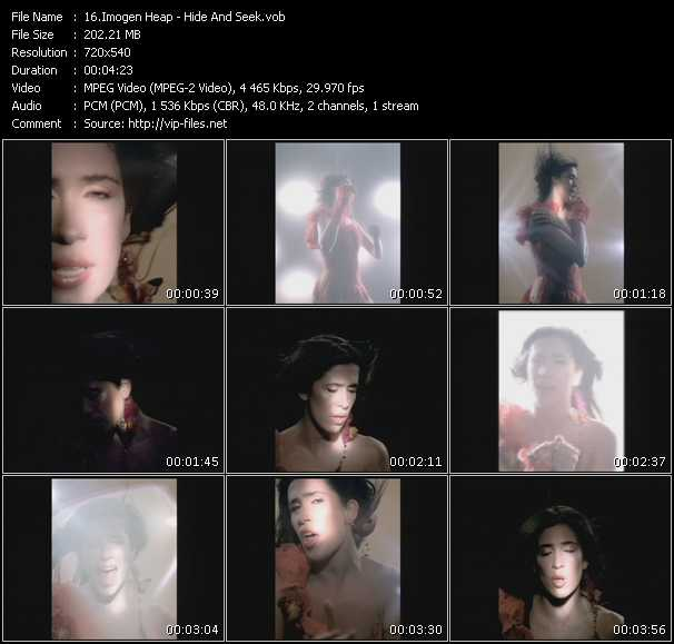 Imogen Heap video screenshot