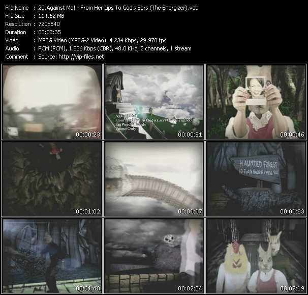 Against Me! video screenshot