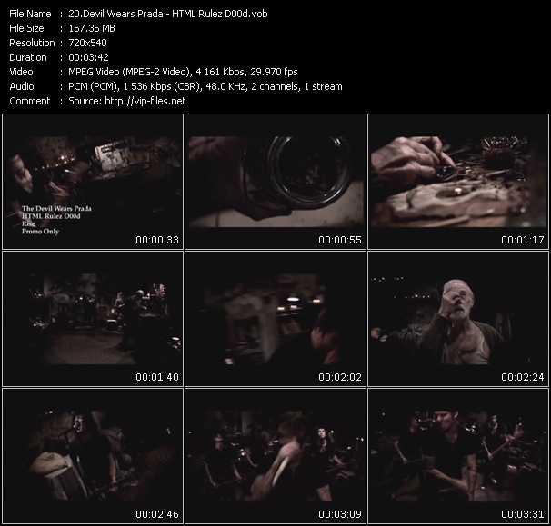 Devil Wears Prada video screenshot
