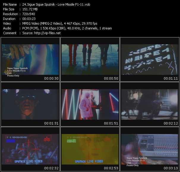 Sigue Sigue Sputnik video screenshot