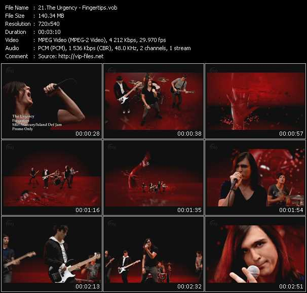 Urgency video screenshot