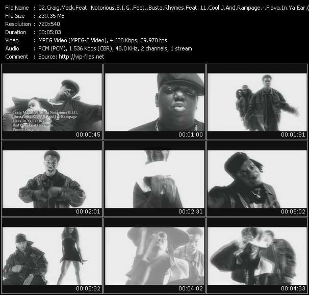 Craig Mack Feat. Notorious B.I.G. Feat. Busta Rhymes Feat. LL Cool J And Rampage video screenshot