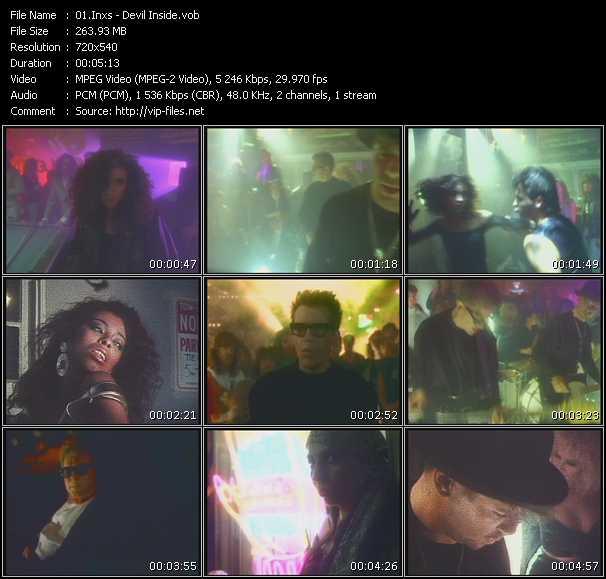 Inxs video screenshot