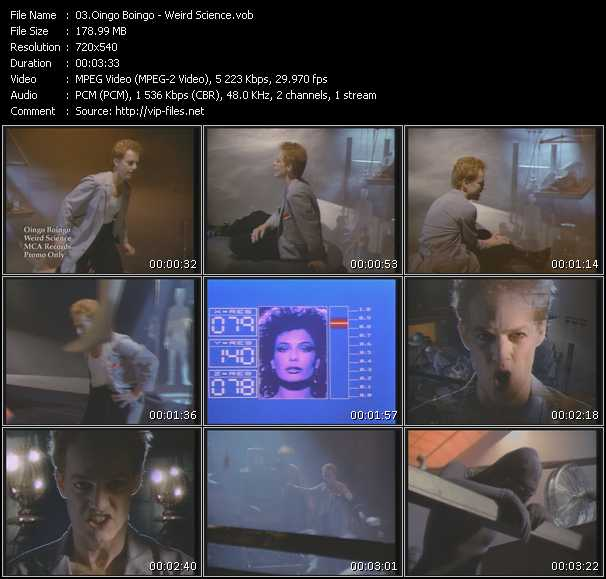 Oingo Boingo video screenshot