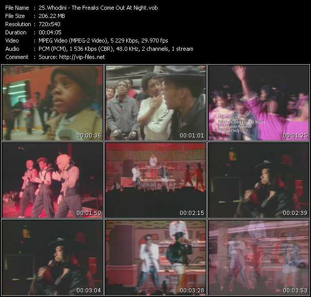 Whodini video screenshot