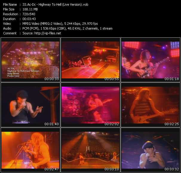 Ac-Dc video screenshot