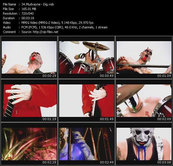 Mudvayne video screenshot