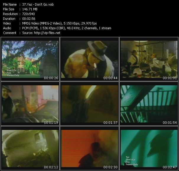 Yazoo (Yaz) video screenshot