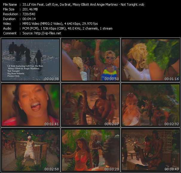 Lil' Kim Feat. Lisa Left Eye Lopes, Da Brat, Missy Elliott And Angie Martinez video screenshot