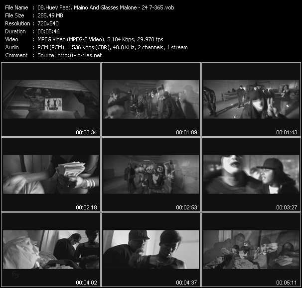 video 24 7-365 screen