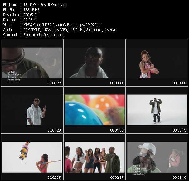 Lil' Wil video screenshot