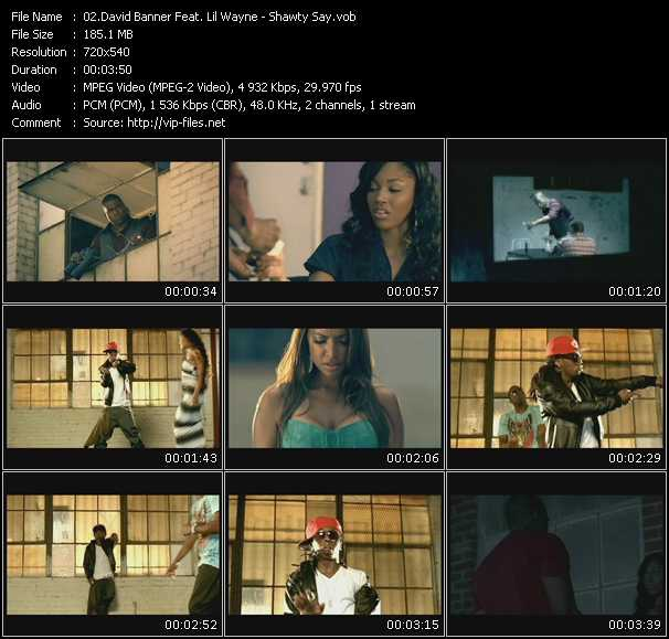 David Banner Feat. Lil' Wayne video screenshot