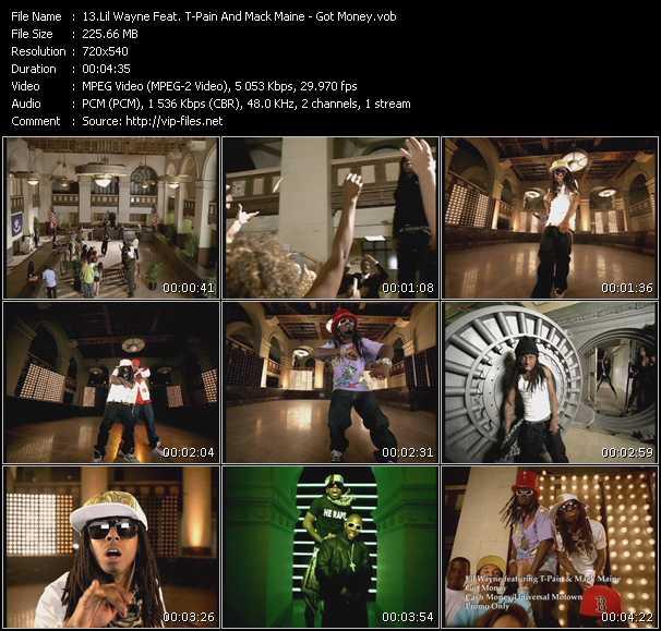 Lil' Wayne Feat. T-Pain And Mack Maine video screenshot