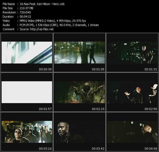 Nas Feat. Keri Hilson video screenshot