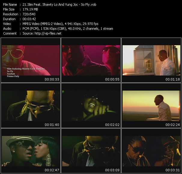 Slim Feat. Shawty Lo And Yung Joc video screenshot