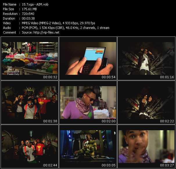Tyga video screenshot