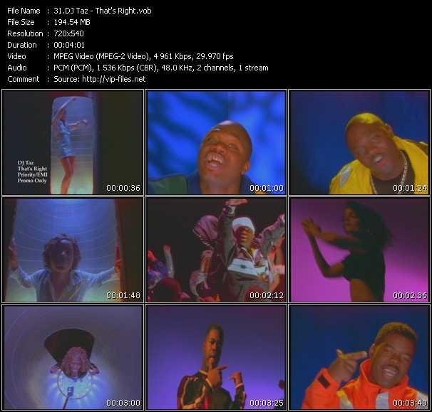 Dj Taz video screenshot