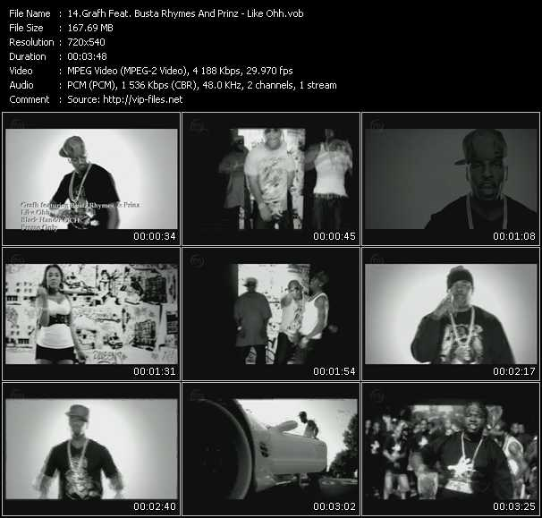 Grafh Feat. Busta Rhymes And Prinz video screenshot