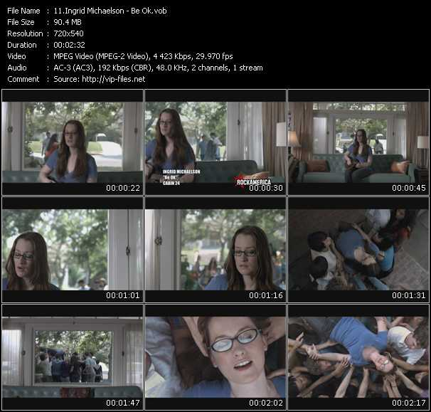 Ingrid Michaelson video screenshot