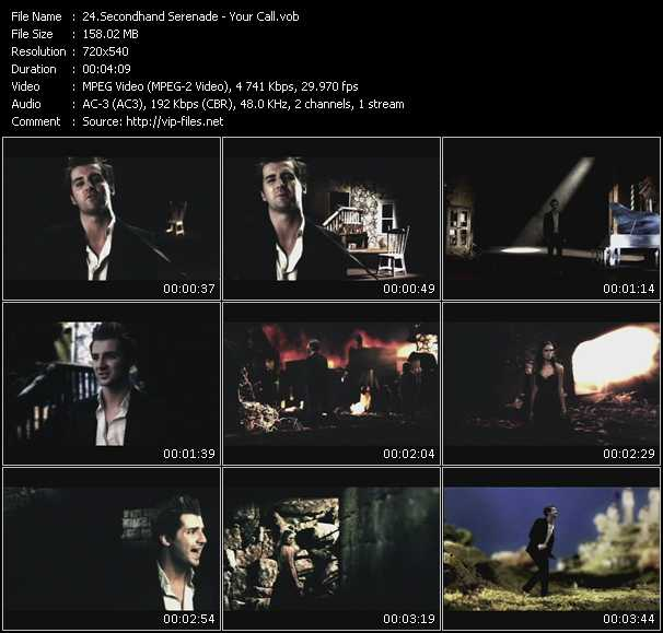 Secondhand Serenade video screenshot