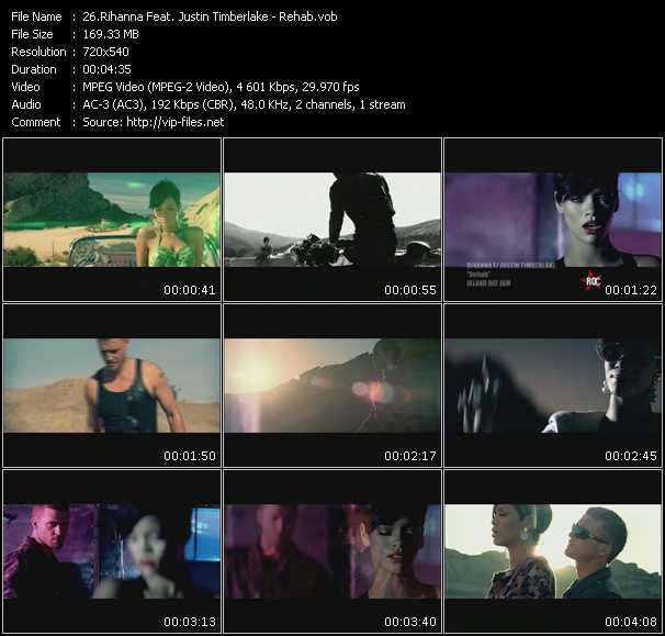 Rihanna Feat. Justin Timberlake video screenshot