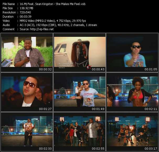 Mj Feat. Sean Kingston video screenshot