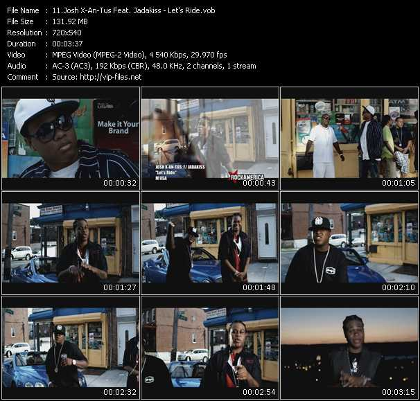 Josh X-An-Tus Feat. Jadakiss video screenshot