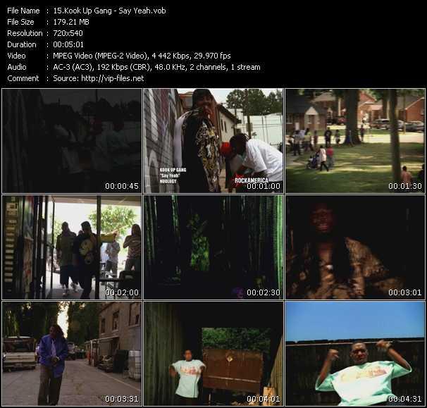 Kook Up Gang video screenshot