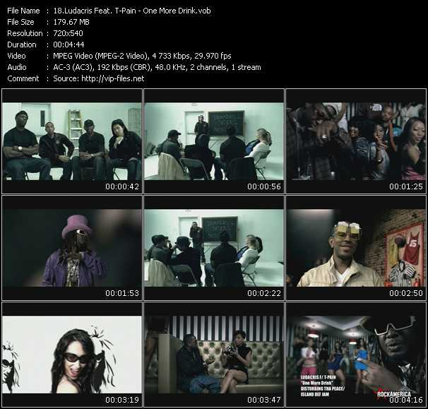 Ludacris Feat. T-Pain video screenshot