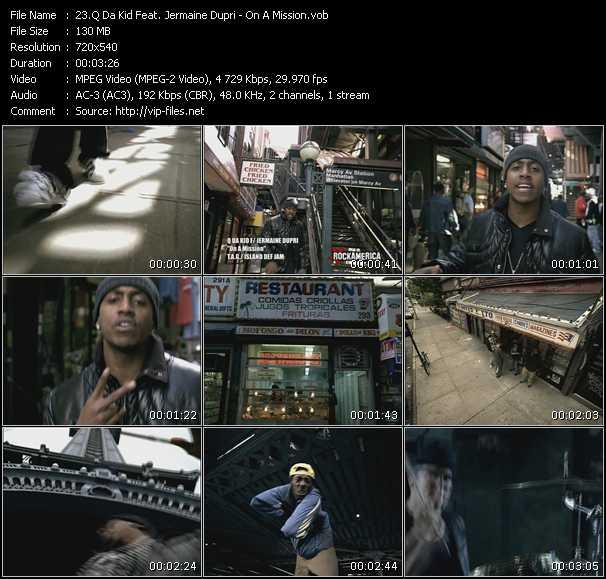Q Da Kid Feat. Jermaine Dupri video screenshot