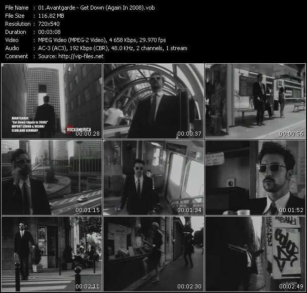 Avantgarde video screenshot