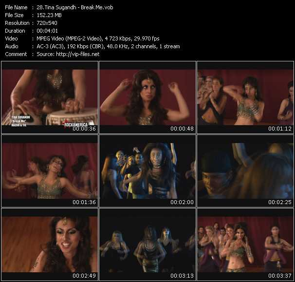 Tina Sugandh video screenshot