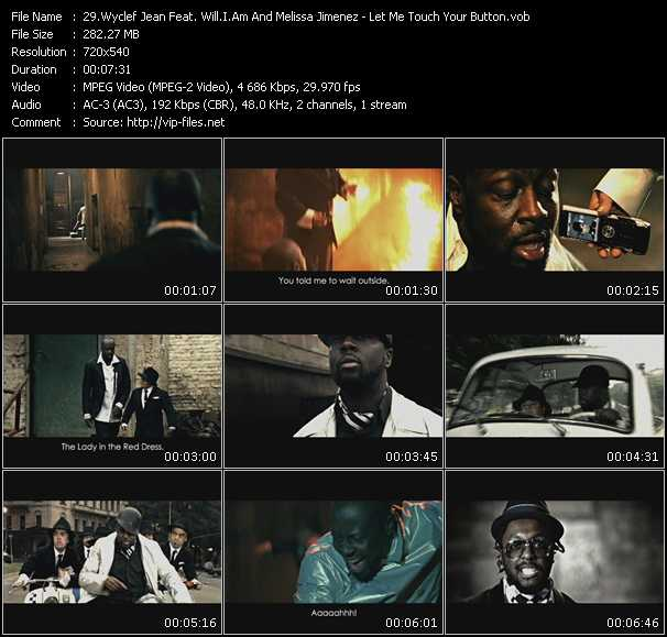 Wyclef Jean Feat. Will.I.Am And Melissa Jimenez video screenshot