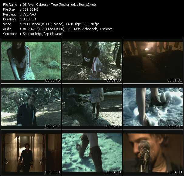 video True (Rockamerica Remix) screen