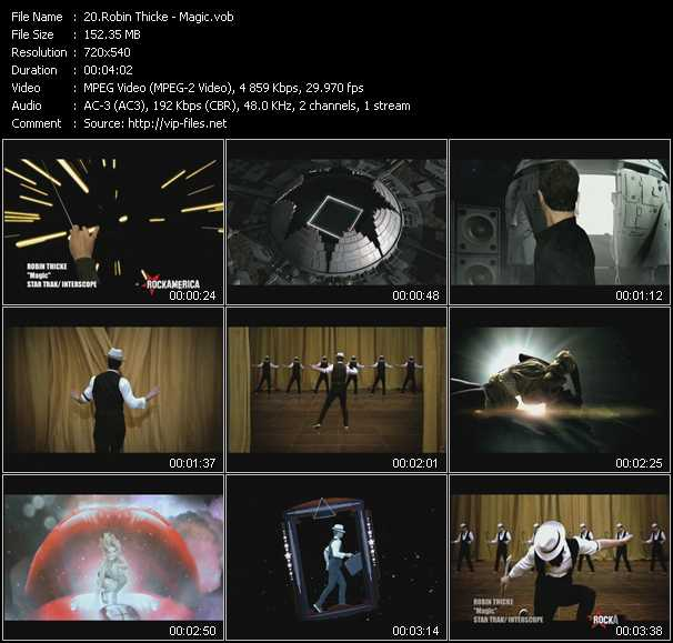 video Magic screen