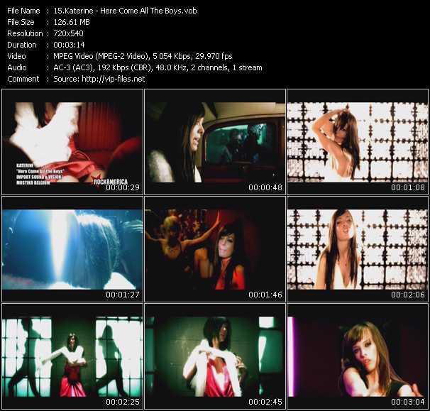 Katerine video screenshot