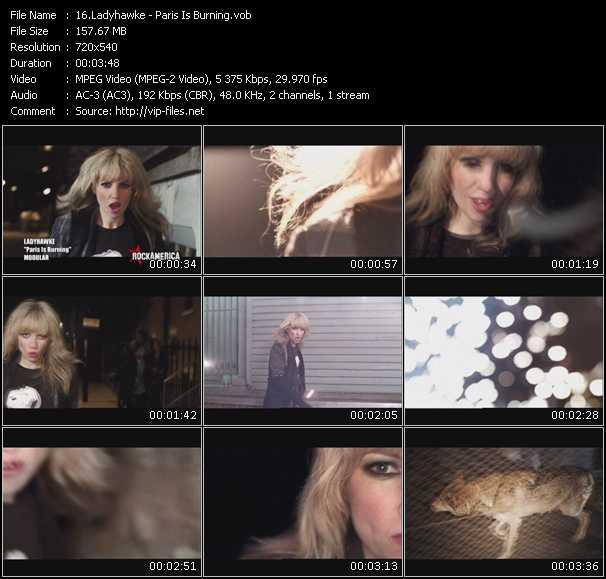 Ladyhawke video screenshot