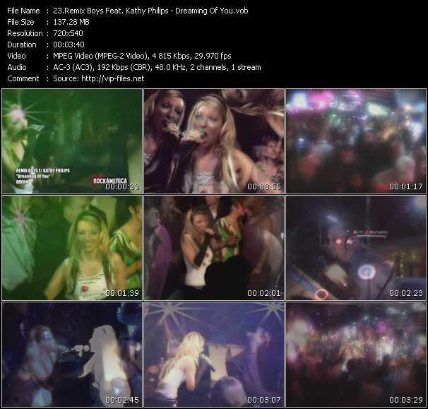 Remix Boys Feat. Kathy Phillips video screenshot