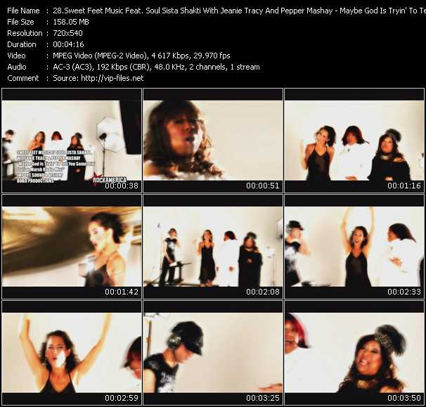 Sweet Feet Music Feat. Soul Sista Shakti With Jeanie Tracy And Pepper Mashay video screenshot