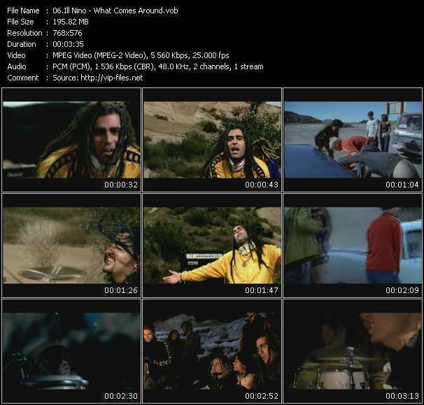 Ill Nino video screenshot