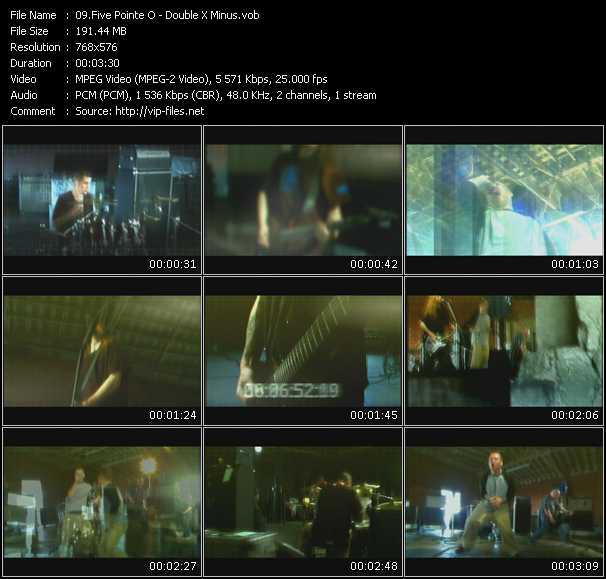 Five Pointe O video screenshot