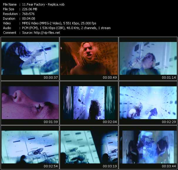 Fear Factory video screenshot
