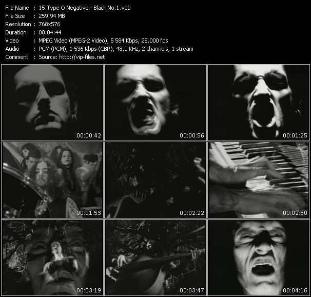 Type O Negative video screenshot