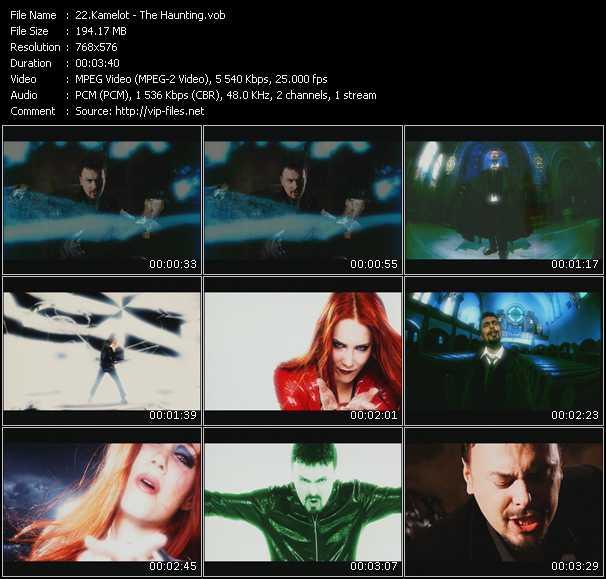 Kamelot video screenshot