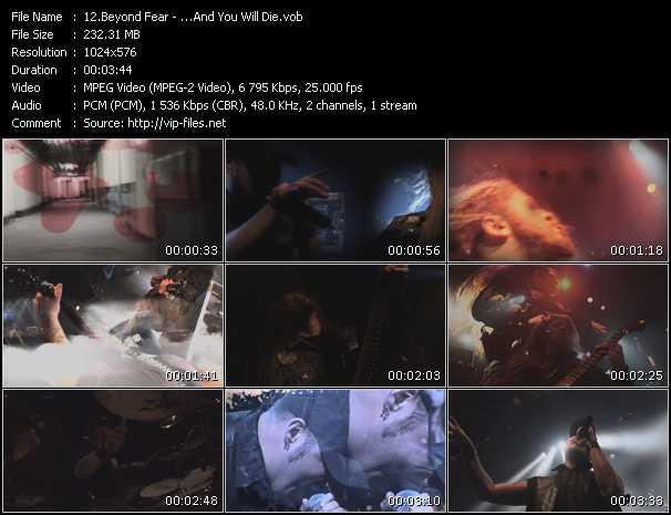 Beyond Fear video screenshot