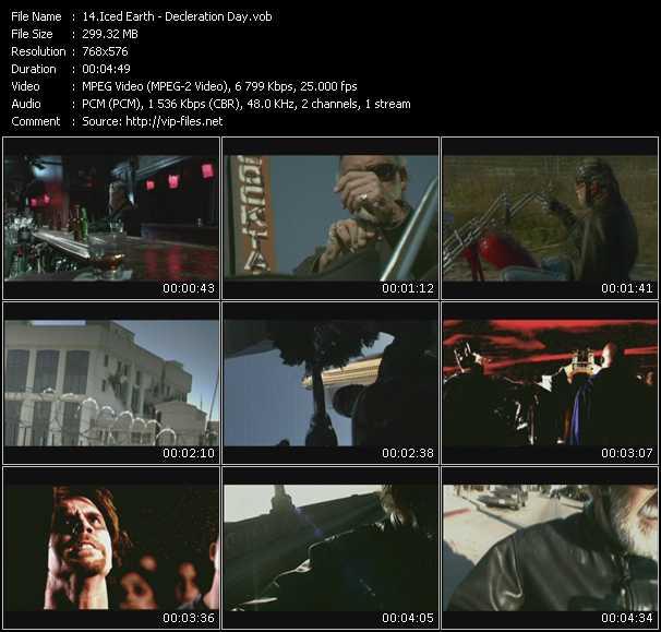 Iced Earth video screenshot