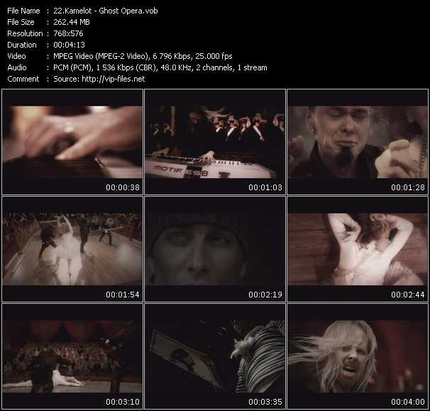 Kamelot video screenshot
